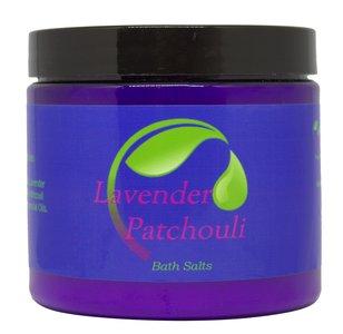 Lavender Patchouli BathSalt - Aromatherapy Bath Salt