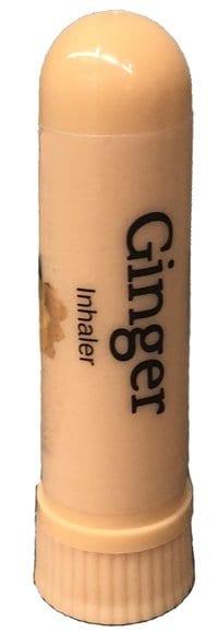 Ginger inhaler