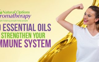 Aromatherapy essential oils for immune system